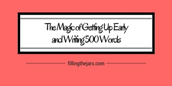 If you're a writer or a blogger, you know how important it is to find time to write. Click through to read about rediscovering the magic of writing -- and how to find time to do it. #morningwriting #my500words #dailyroutine #goals #writinglife #writingtips