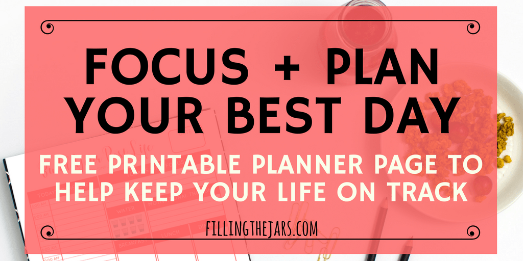 image about Daily Planner Page identify Maintain Your Everyday living upon Keep track of with a Printable Every day Planner Website page