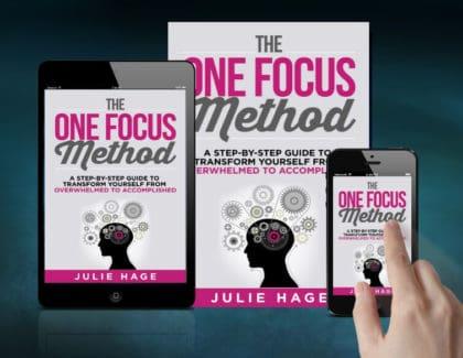 The ONE FOCUS Method on Amazon | #stopthinkingstartdoing | #overthinker | #productivity | #onefocus