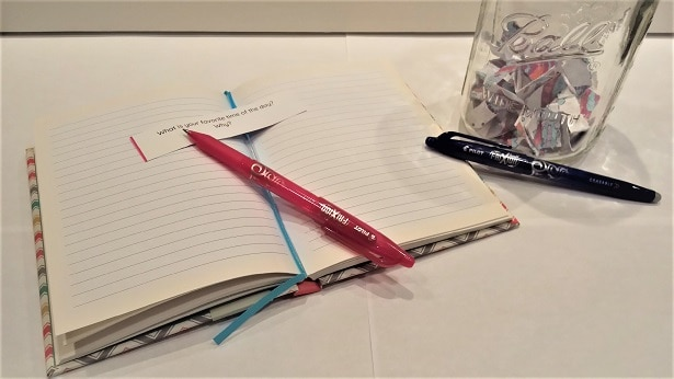 journal jar prompts ready to journal with frixion pens