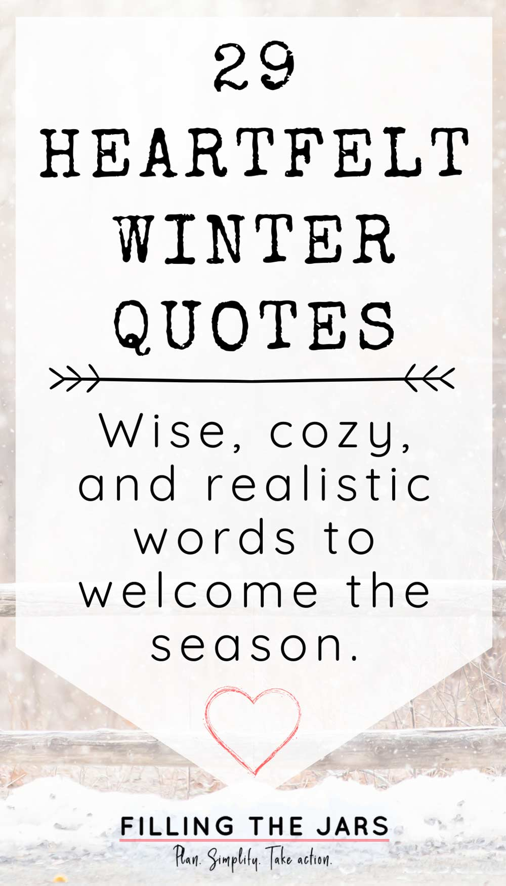 winter quotes text on white background over outdoor winter scene image